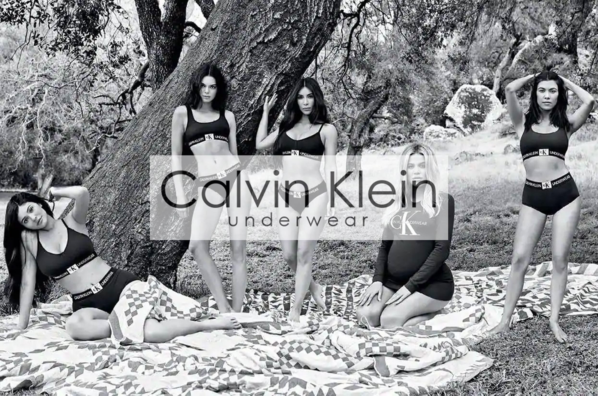 Féminine dans mon Calvin