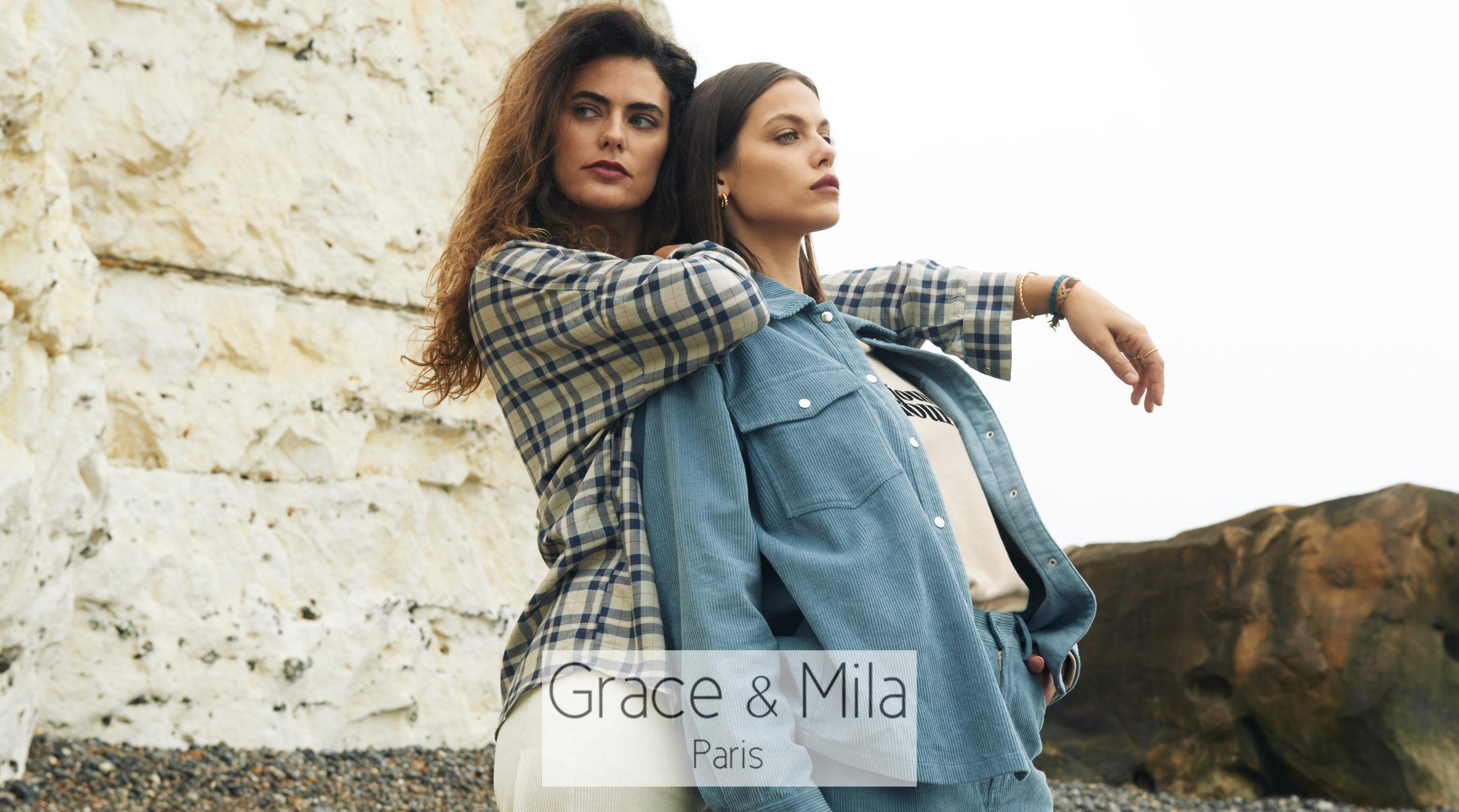GRACE & MILA et ses collections à tomber
